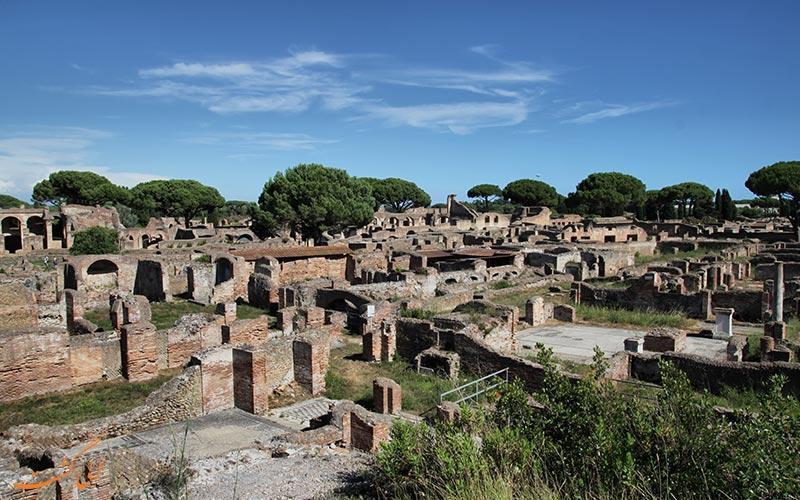 استیا آنتیکا، شهری باستانی در نزدیکی رم