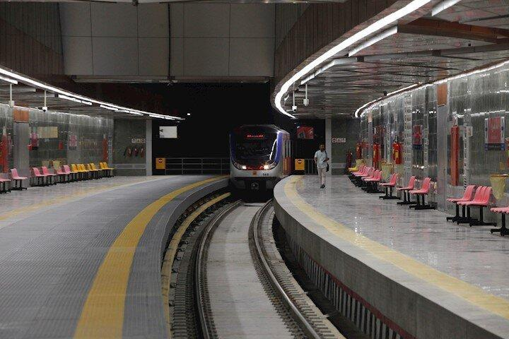کدام ایستگاه مترو تهران در اول صف افتتاح قرار گرفته است؟