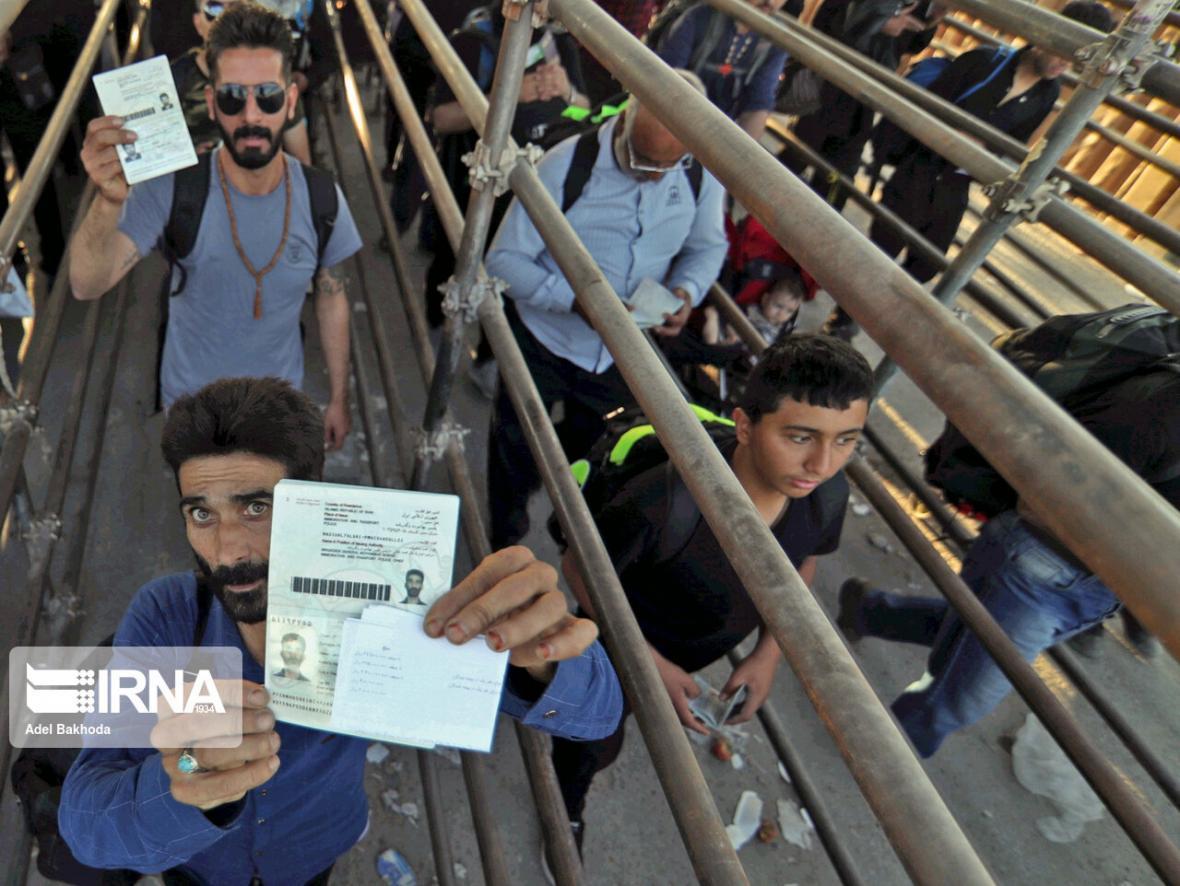 خبرنگاران مرز چذابه باز شد؛ بازگشایی مهران از فردا