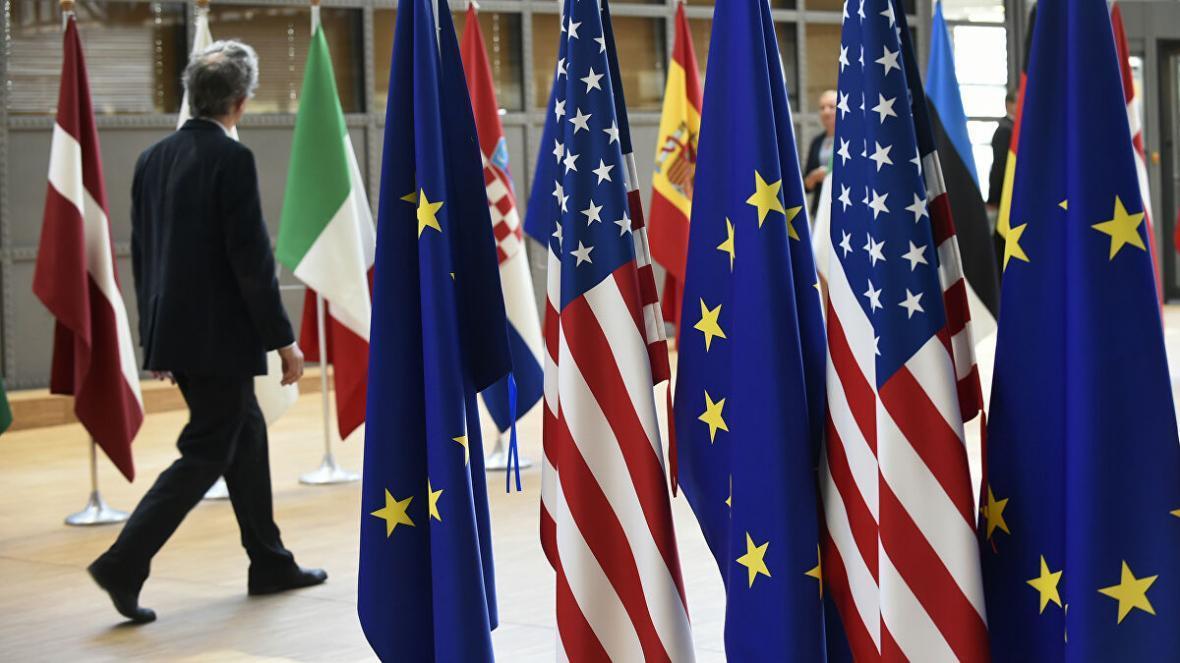 آمریکا بر کالا های تولیدی در اروپا تعرفه اعمال می نماید