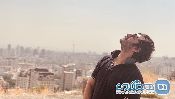 عباس غزالی در آسمان سیر می کند