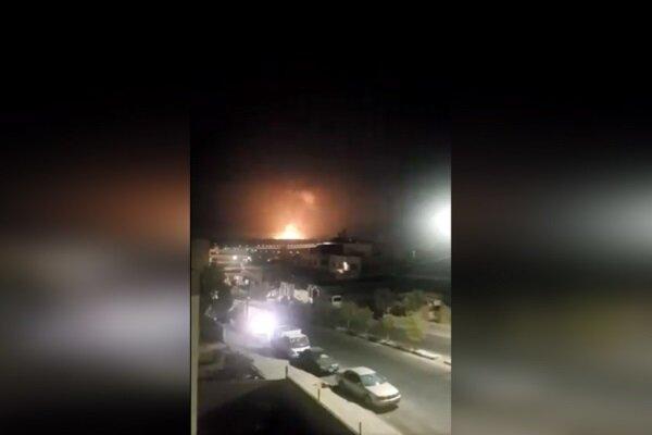 انفجار مهیب در یک زاغه مهمات در حومه امان