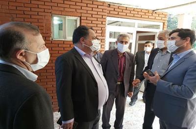 بازدید معاون برنامه ریزی و امور سرمایه گذاری صندوق رفاه دانشجویان و هیات همراه از دانشگاه مازندران