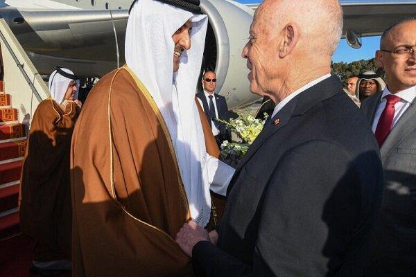سفر رئیس جمهور تونس به قطر