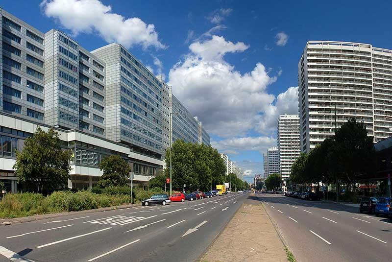 خیابان های برلین آلمان