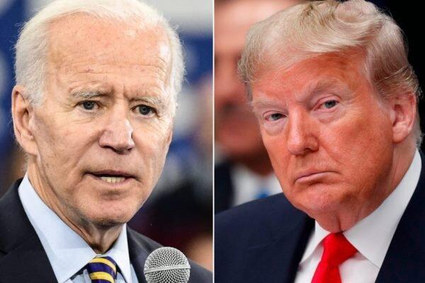 اختلاف بایدن و ترامپ به 8 درصد رسید
