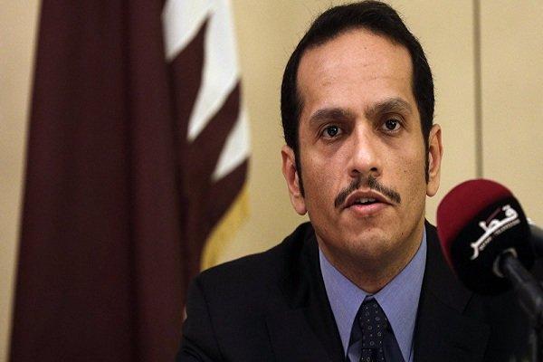 وزیر خارجه قطر بر حل سیاسی بحران سوریه تاکید نمود
