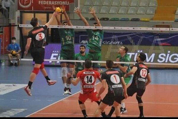 پیروزی یاران شریفی در لیگ ترکیه، غفور امتیازآورترین بازیکن بورسا