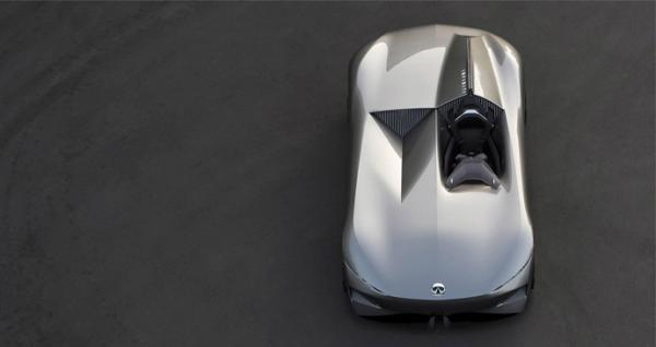 اینفینیتی خودرو تک نفره پروتوتایپ 10 را عرضه کرد