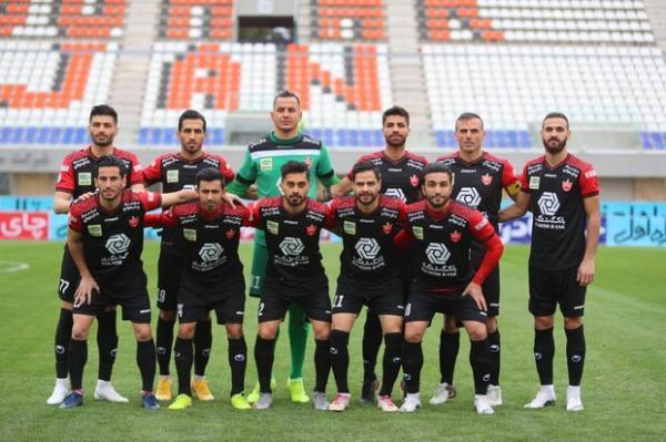 پیغام باشگاه پرسپولیس به مناسبت قهرمانی در نیم فصل