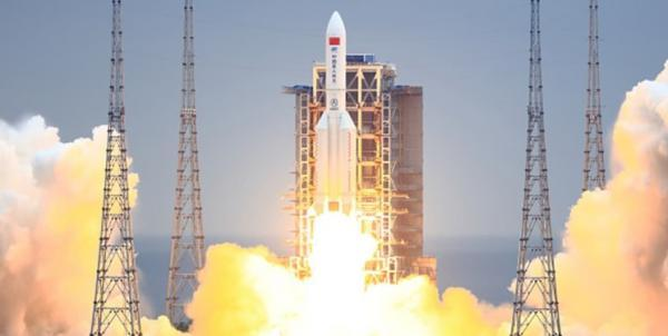 فضاپیمای باربری چین با ماژول ایستگاه فضایی ملاقات می نماید