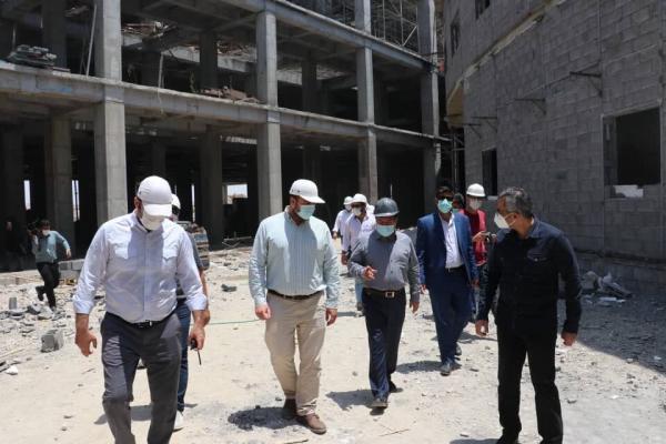 خبرنگاران بیمارستان 531 تختخوابی بندرعباس تیرماه سال جاری بهره برداری می گردد