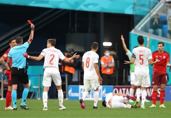 یورو 2020، مصاف اسپانیا و سوئیس 10 نفره به وقت های اضافه کشید