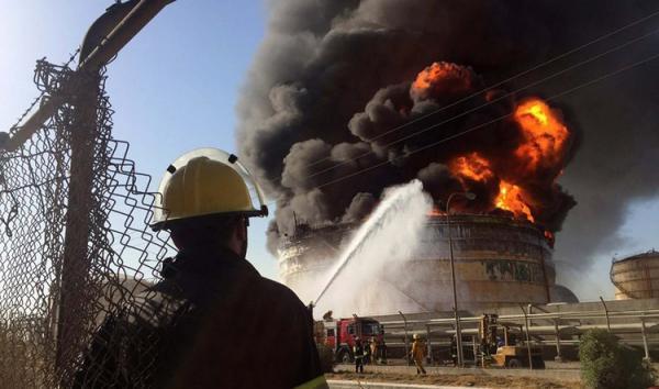 آتش سوزی در پالایشگاه آبادان؛ 3 نفر مصدوم شدند