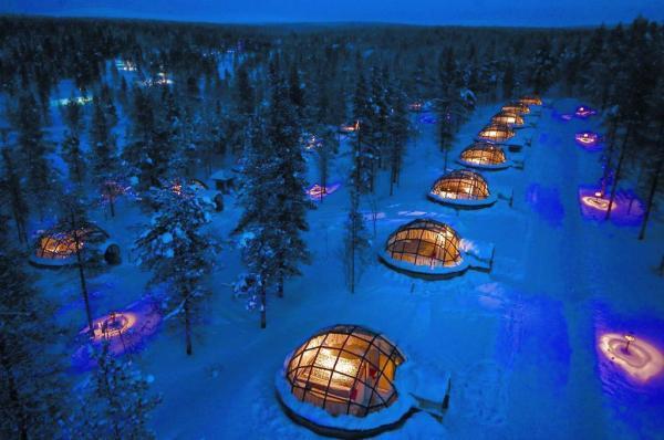 اتاق های مجذوب کننده و خیره کننده برخی هتل ها در جهان