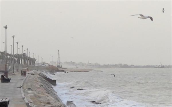 هشدار هواشناسی درباره افزایش ارتفاع موج در خلیج فارس و دریای خزر